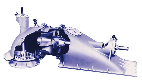 AXIAL PUMP, propeller, axial waterjet pump jet